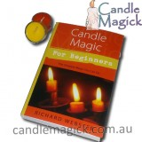 Candle Magick for Beginners by Richard Webster