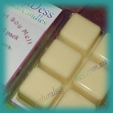 Clamshell Fragrant Soy Melt - 80+ hours -  French Vanilla