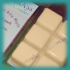 Clamshell Fragrant Soy Melt - 80+ hours - Peaches & Cream