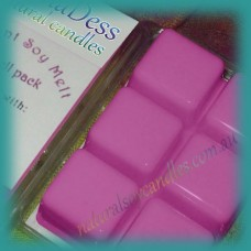 Clamshell Fragrant Soy Melt - 80+ hours - Sweet Pea & Vanilla