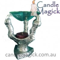 Dragon Claw Oil Burner & Crystal Ball holder