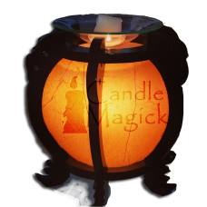Orange Orb Wax Melter & Lamp - Electric