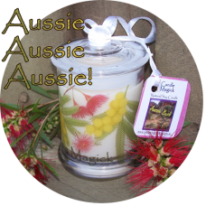 Australian Flora Candle 75hr Soy Candle Jar