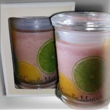 Lemon Lime & Bitters  Soy Candle