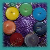 Single 6hr Soy Tealight - Unscented