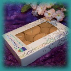 Scented 6hr Soy Tealights 6pk ~ Sugar Cookie