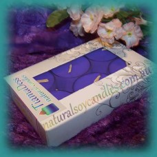 Scented 6hr Soy Tealights 6pk - Blueberry Muffin