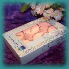 Scented 6hr Soy Tealights 6pk - Angel