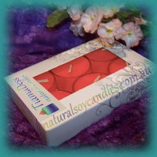 Scented 6hr Soy Tealights 6pk ~ Persian Spice
