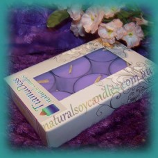 Scented 6hr Soy Tealights 6pk ~ French Lavender