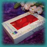 Scented 6hr Soy Tealights 6pk ~ Pomegranate