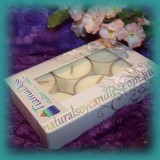 Unscented 6hr Soy Tealights 6pk