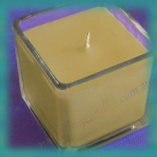 Square Glassware Scented Soy Candle ~ Gingerbread