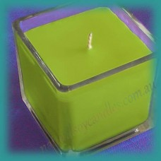 Square Glassware Scented Soy Candle ~ Coconut & Lime