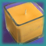 Square Glassware Scented Soy Candle - Large