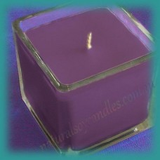 Square Glassware Scented Soy Candle ~ Blueberry Muffin