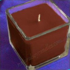 Square Glassware Scented Soy Candle ~ Dragon's Blood