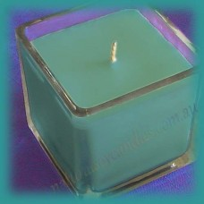Square Glassware Scented Soy Candle ~ Hawaiian Breeze