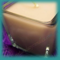 Square Glassware Scented Soy Votive Candle (small) ~ Gingerbread