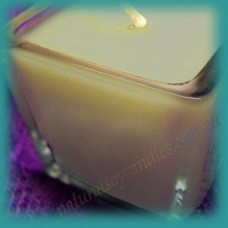 Square Glassware Scented Soy Votive Candle (small) ~ Australian Bush
