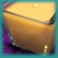 Square Glassware Scented Soy Votive Candle (small) ~ Passionfruit