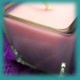Square Glassware Scented Soy Votive Candle (small) ~ Angel