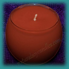 Sphere Scented Soy Candle ~ Gingerbread