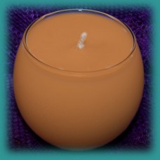Sphere Scented Soy Candle ~ Creme Brulee