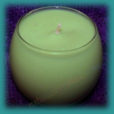 Sphere Scented Soy Candle ~ Melon & Cucumber
