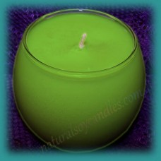 Sphere Scented Soy Candle ~ Coconut & Lime