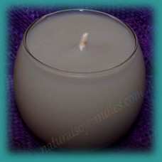 Sphere Scented Soy Candle ~ Campfire Smoke