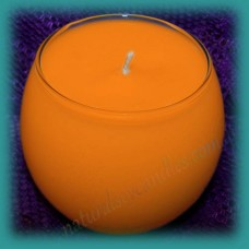 Sphere Scented Soy Candle ~ Cinnamon & Orange