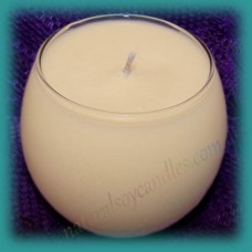 Sphere Scented Soy Candle ~ Peaches & Cream