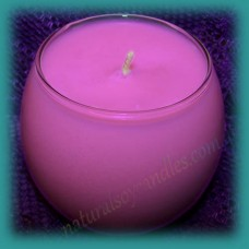 Sphere Scented Soy Candle ~ Sweet Pea & Vanilla