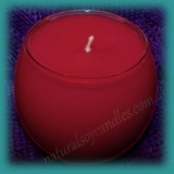Sphere Scented Soy Candle - Wild Strawberry