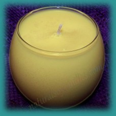 Sphere Scented Soy Candle ~ Frangipani
