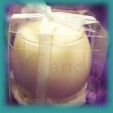 Sphere Glassware Scented Soy Candle